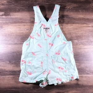 OshKosh B'gosh Bottoms - OshKosh B'gosh Pineapple & Palm Trees Shortalls